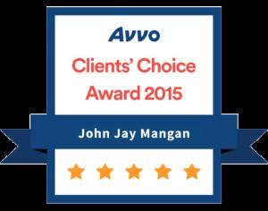 Avvo Client's Choice Award 2015