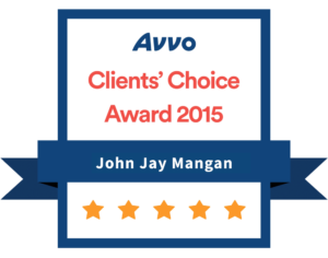 Avvo Client's Choice Award 2015. 97% of US lawyers are rated with unsolicited reviews and detailed profiles by Avvo, a unit of Martindale-Avvo, formerly Martindale-Hubbell.